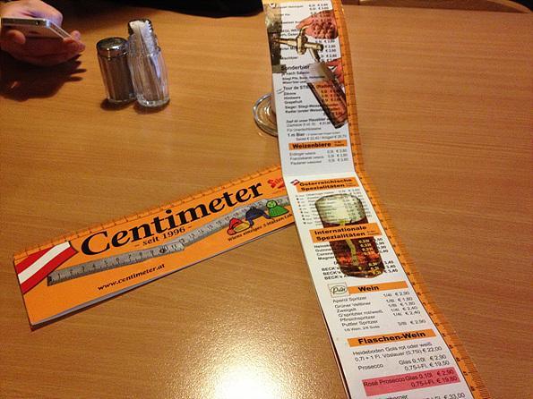 centimeter 1